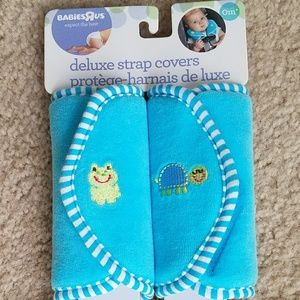 Car seat and stroller Strap Covers